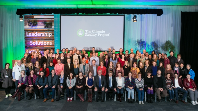 Fellow members of the Climate Reality Leadership Corps in Melbourne.