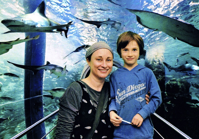 This is me with my 9 y o son, Jamie, at the Melbourne Aquarium - one of our favourite places. The preservation of nature and the life support systems that sustain us all, is what will determine the type of planet and future that we pass on to current and future generations. What will our legacy be?