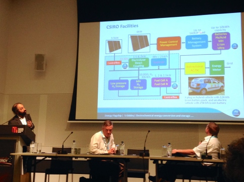 Leading researchers from Australian universities and CSIRO presented at The Clean Energy conference.